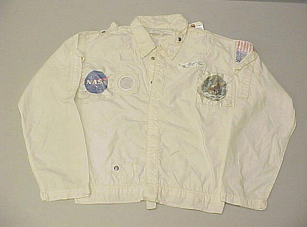 Inflight Coverall Garment, Jacket, Collins, Apollo 11,Inflight Coverall Garment, Jacket, Collins, Apollo 11