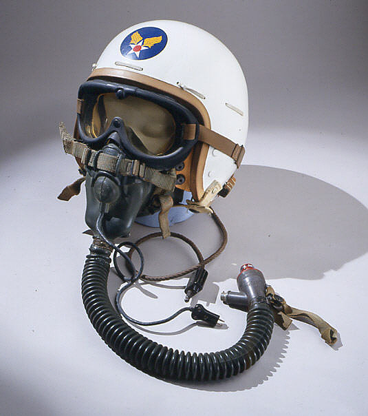 Helmet, Flying, Protective, Type P-1A, United States Air Force