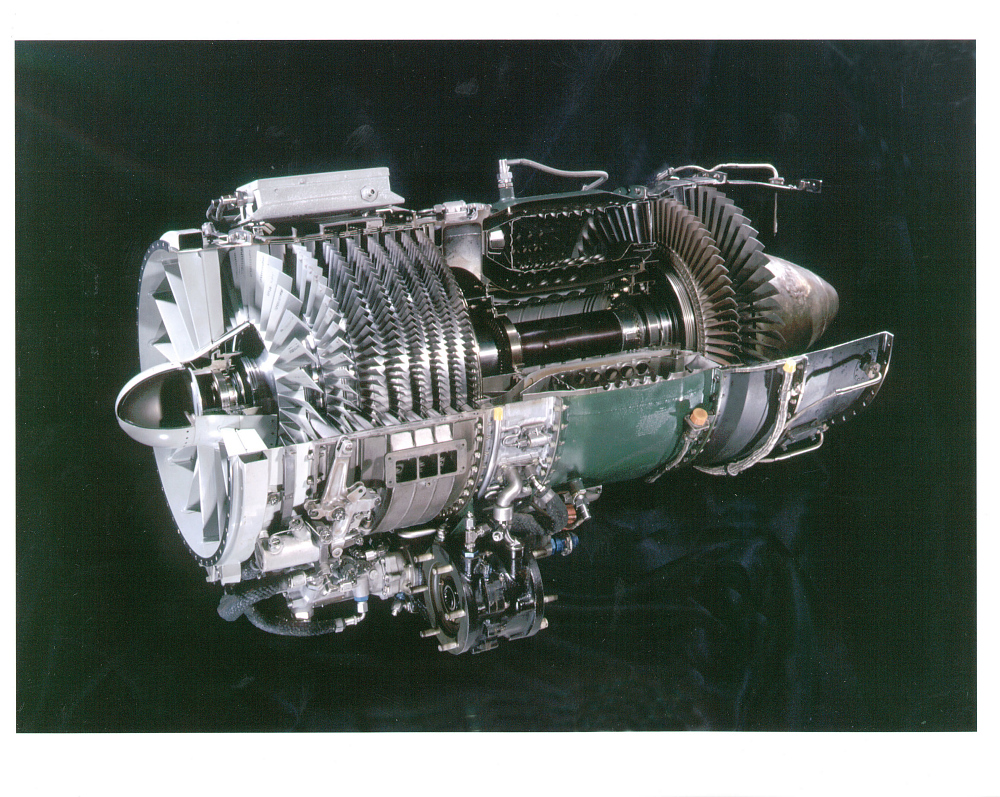 General Electric J85-GE-17A Turbojet Engine, Cutaway