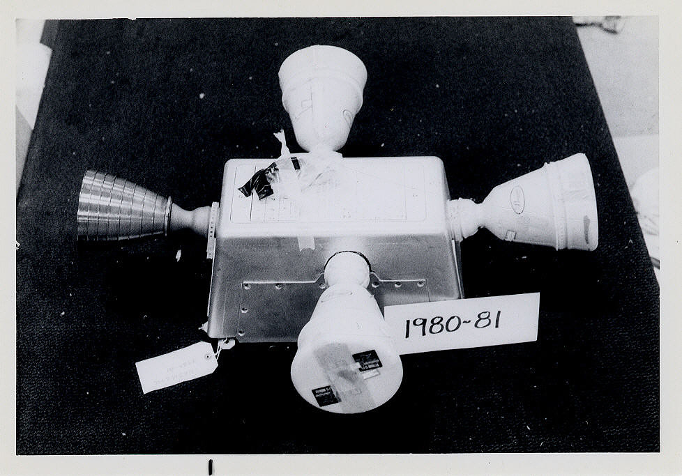 Rocket Motor, Liquid Fuel, Apollo Service Module Reaction Control System, Pod
