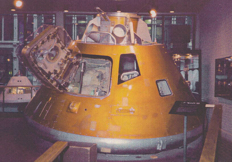 Boilerplate, Command Module, Apollo,