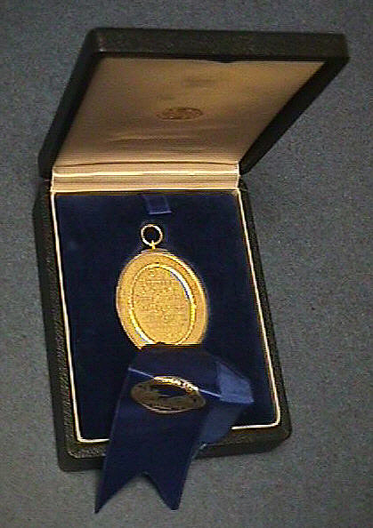 Medal, Premium of John Hyacinth deMagellon of London, 1959, C. Draper