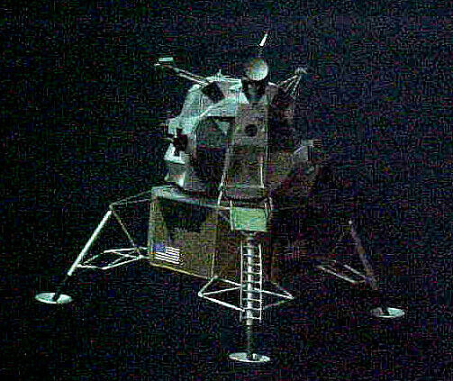 Model, Manned Spacecraft, Lunar Module