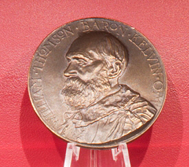 Medal, Kelvin Gold, Institution of Civil Engineers, 1974, Charles Draper