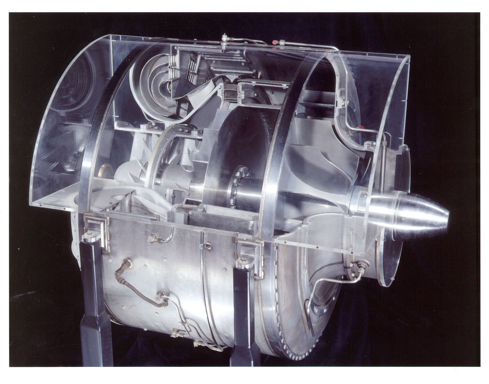 Heinkel (von Ohain) HeS 3B Turbojet Engine, Reproduction