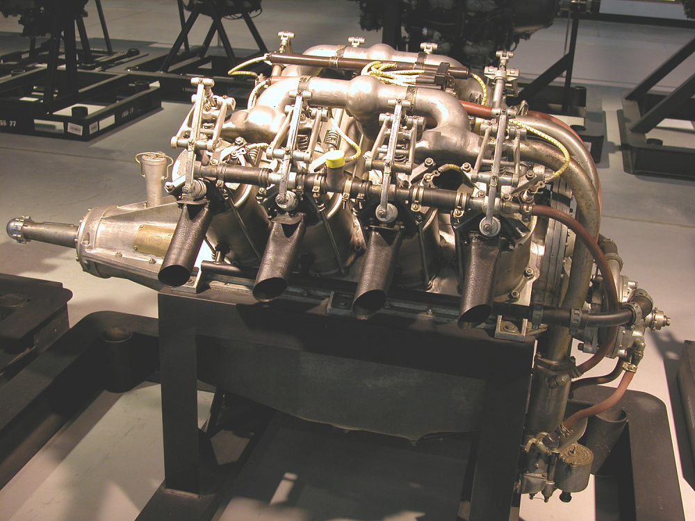 Curtiss OX-5 V-8 Engine