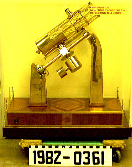 Model, Reflecting Telescope (Perkins Telescope Model),Model, Reflecting Telescope (Perkins Telescope Model)