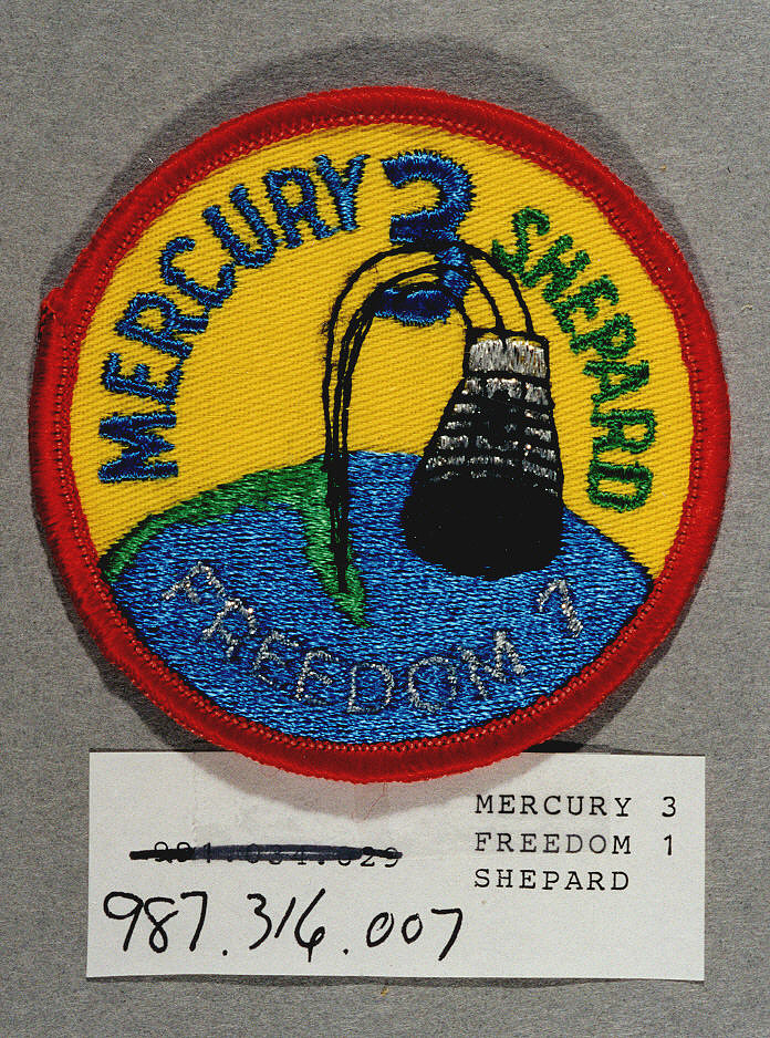 Patch, Mission, Mercury-Redstone 3