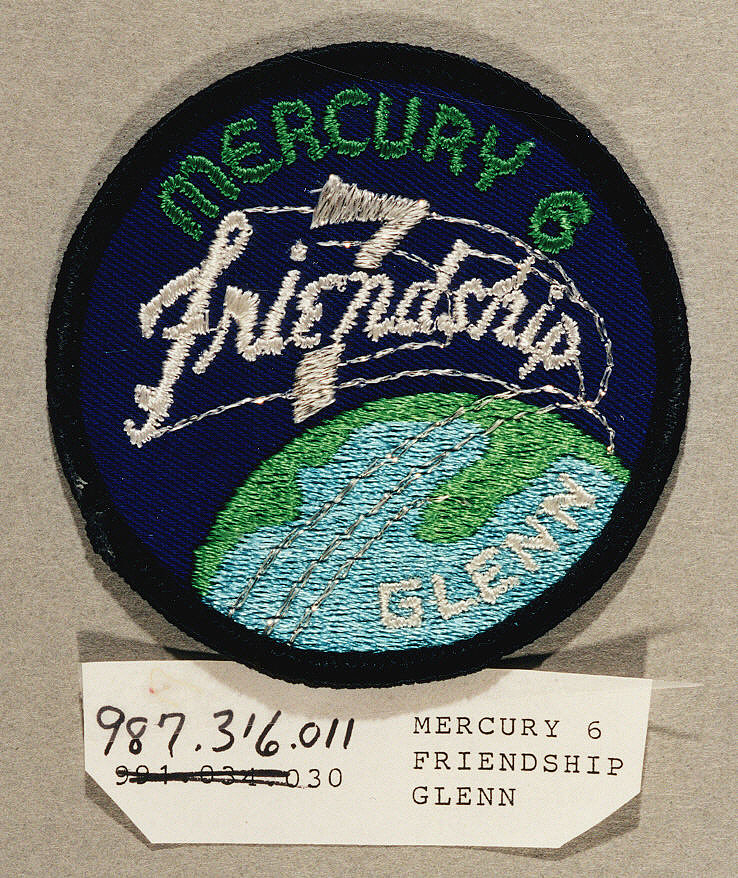 Patch, Mission, Mercury-Atlas 6