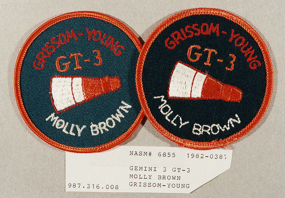 Patch, Mission, Gemini 3