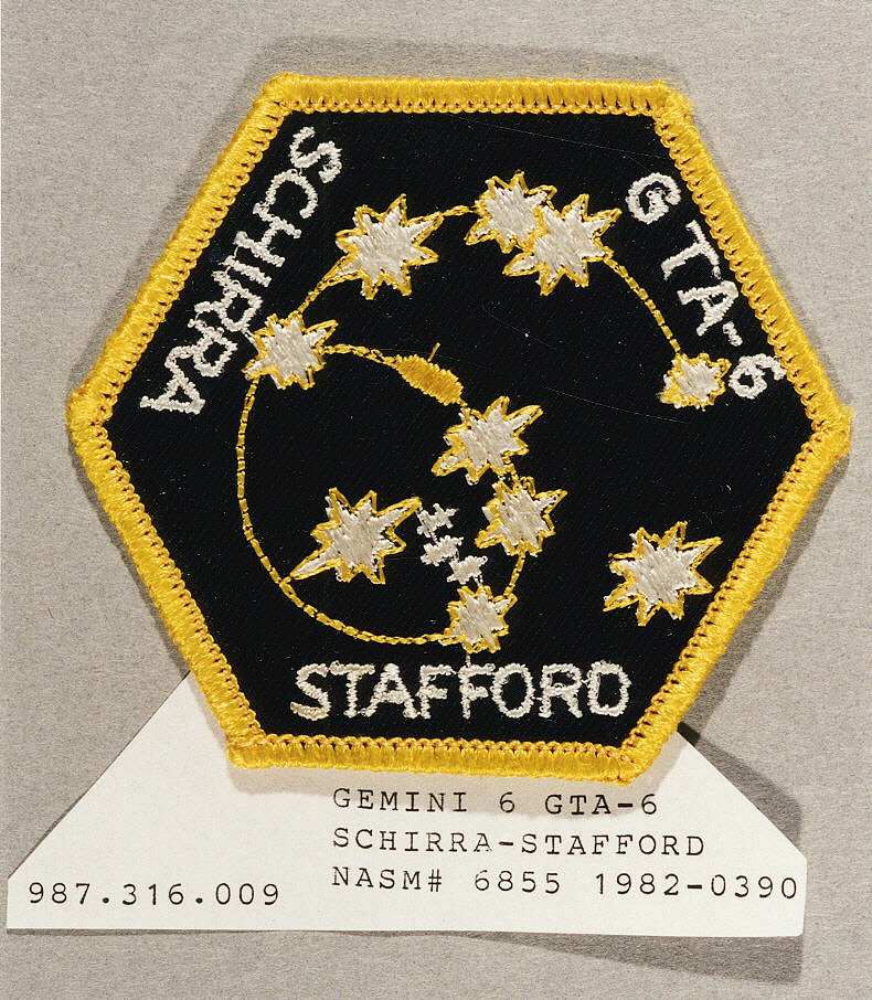 Patch, Mission, Gemini VI
