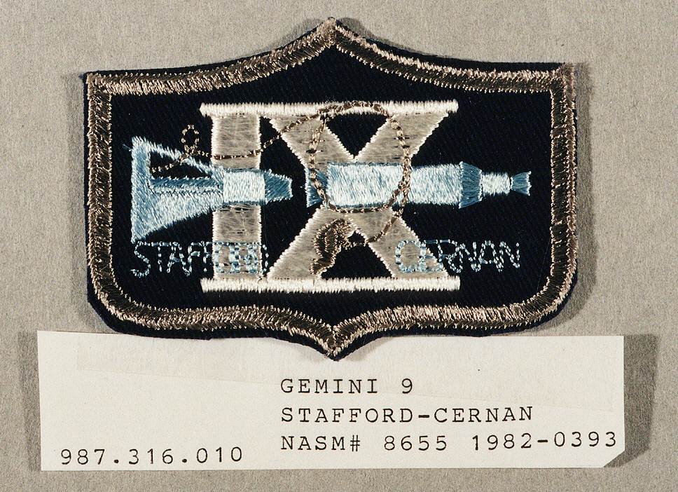 Patch, Mission, Gemini IX