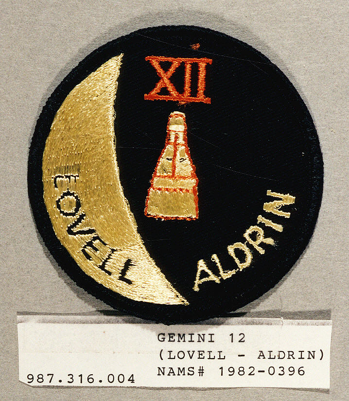 Patch, Mission, Gemini XII