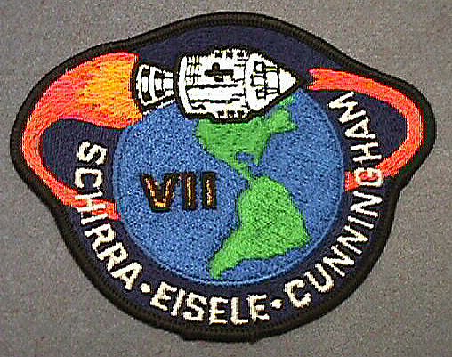 Patch, Mission, Apollo 7,Patch, Mission, Apollo 7