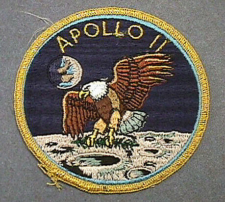 Patch, Mission, Apollo 11,Patch, Mission, Apollo 11