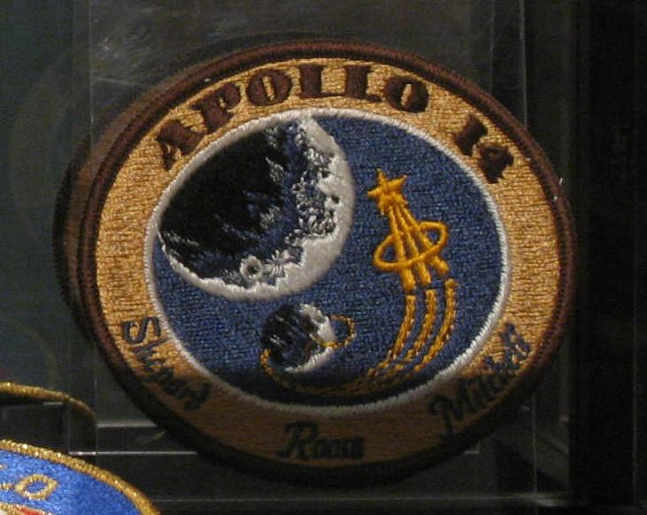 Patch, Mission, Apollo 14