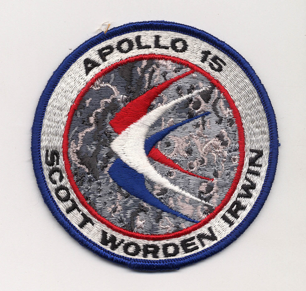 Patch, Mission, Apollo 15,Patch, Mission, Apollo 15