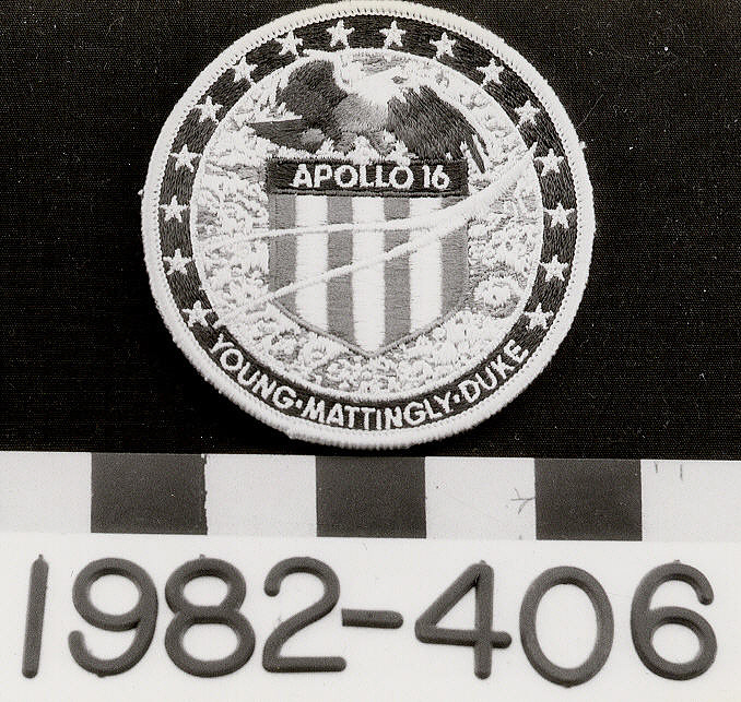 Patch, Mission, Apollo 16