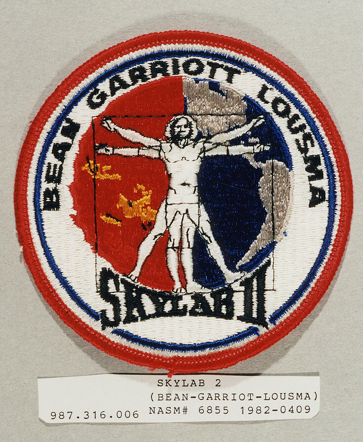 Patch, Mission, Skylab II (Bean, Garriott, Lousma)