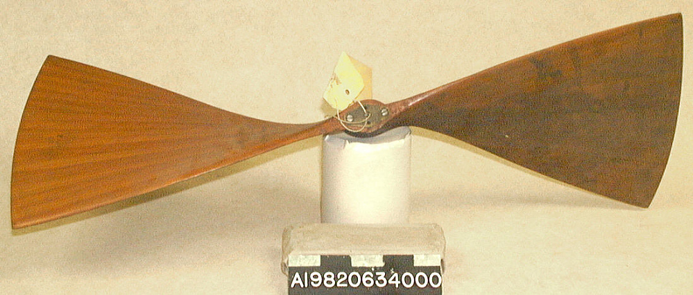 Test Propeller, No.12/10, Langley
