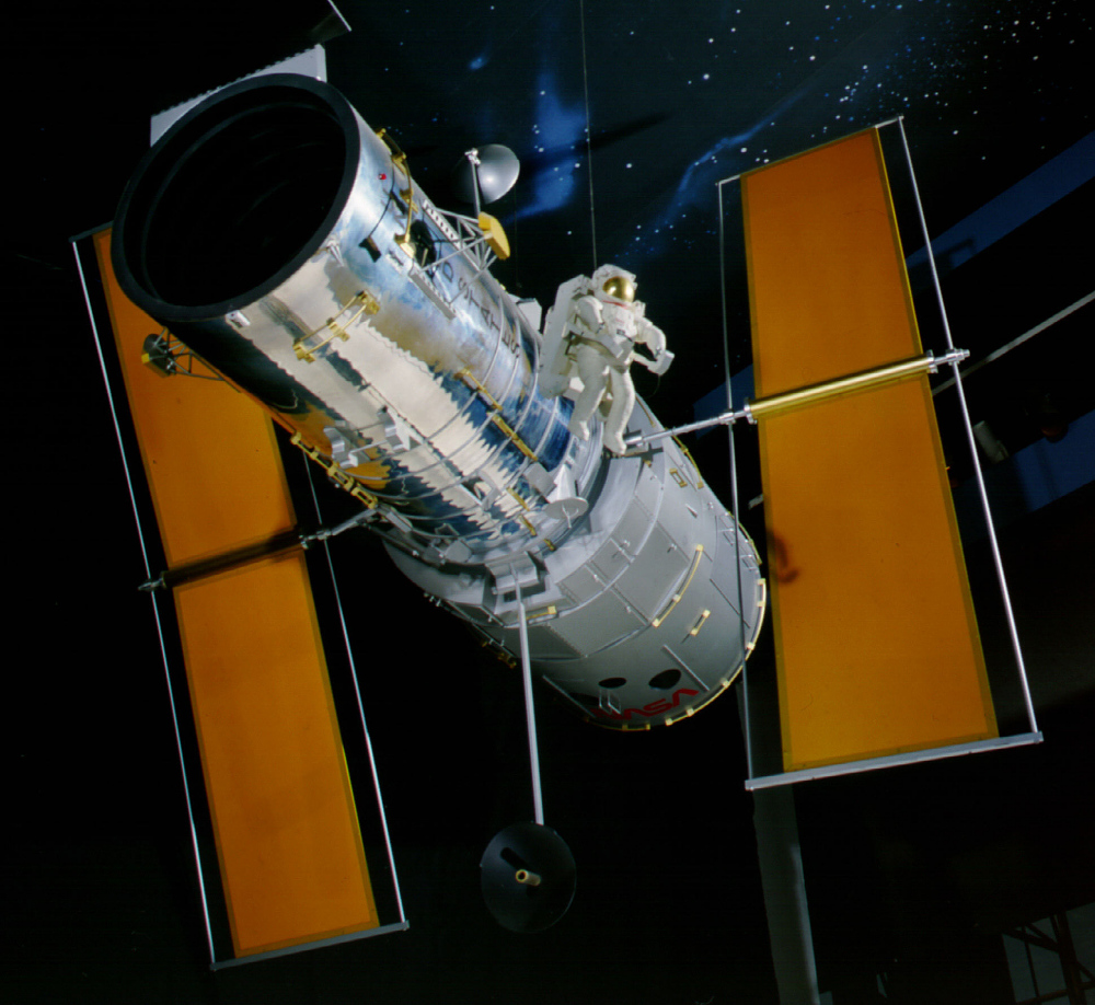Model, 1:5, Hubble Space Telescope,Model, 1:5, Hubble Space Telescope