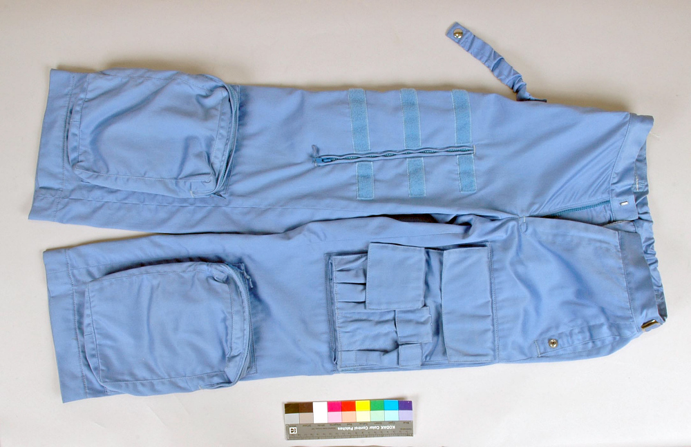 Trousers, In-Flight Suit, Shuttle, Sally Ride, STS-7,Trousers, In-Flight Suit, Shuttle, Sally Ride, STS-7