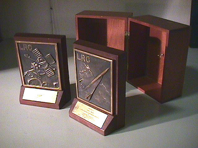 Bookends, Langley Research Center, James Webb,Bookends, Langley Research Center, James Webb
