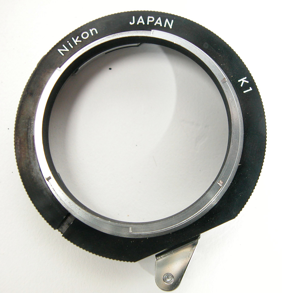 Lens, Adapter, ATM Contamination Coronagraph