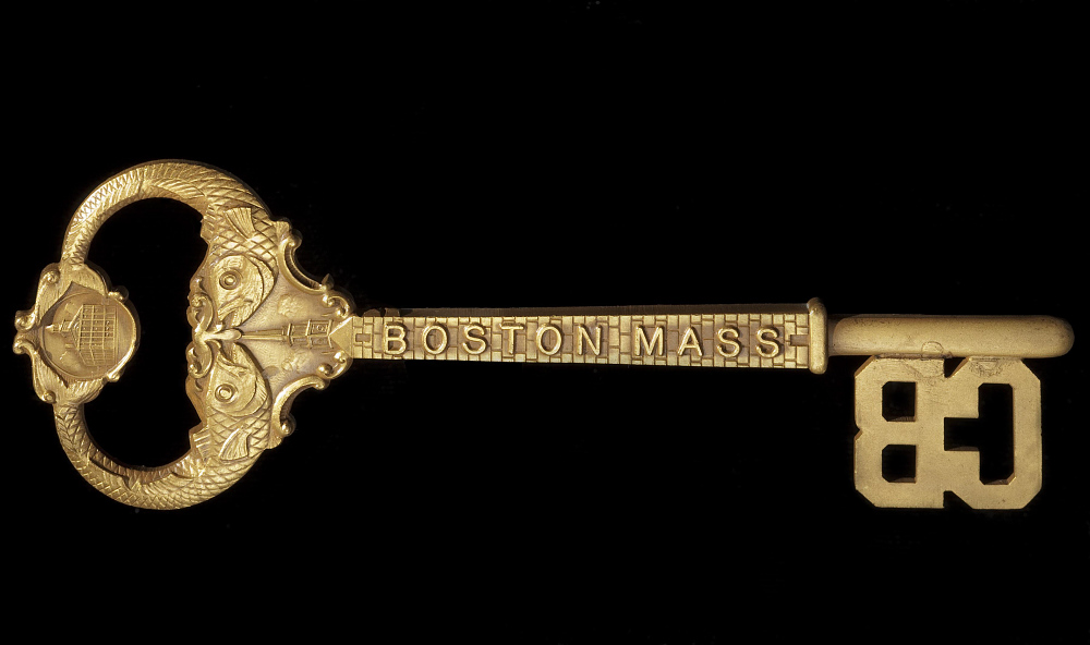 Key, City of Boston, Lt. Lowell Smith