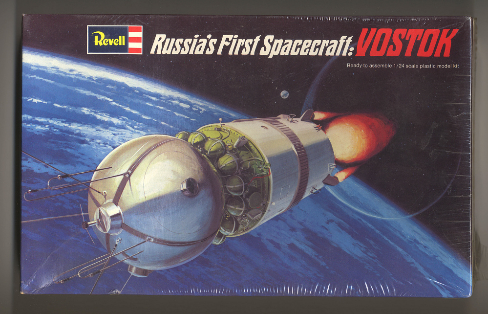 Model, Spacecraft, Vostok: 1/24