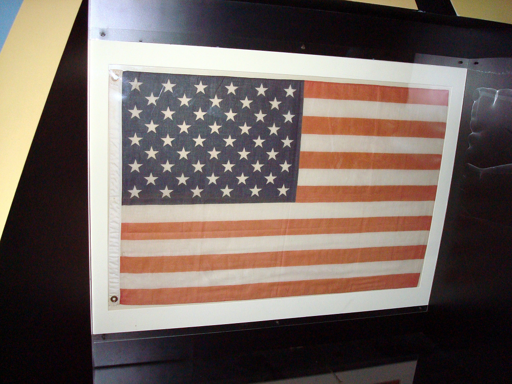 Flag, United States, Freedom 7 Flight