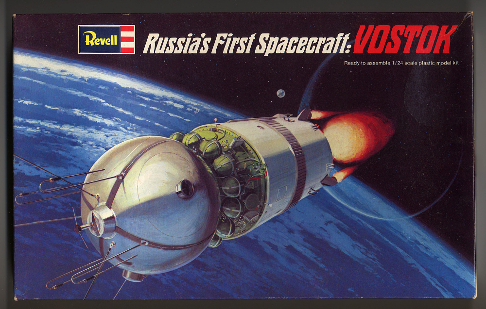Model, Spacecraft, Vostok: 1/24,Model, Spacecraft, Vostok: 1/24