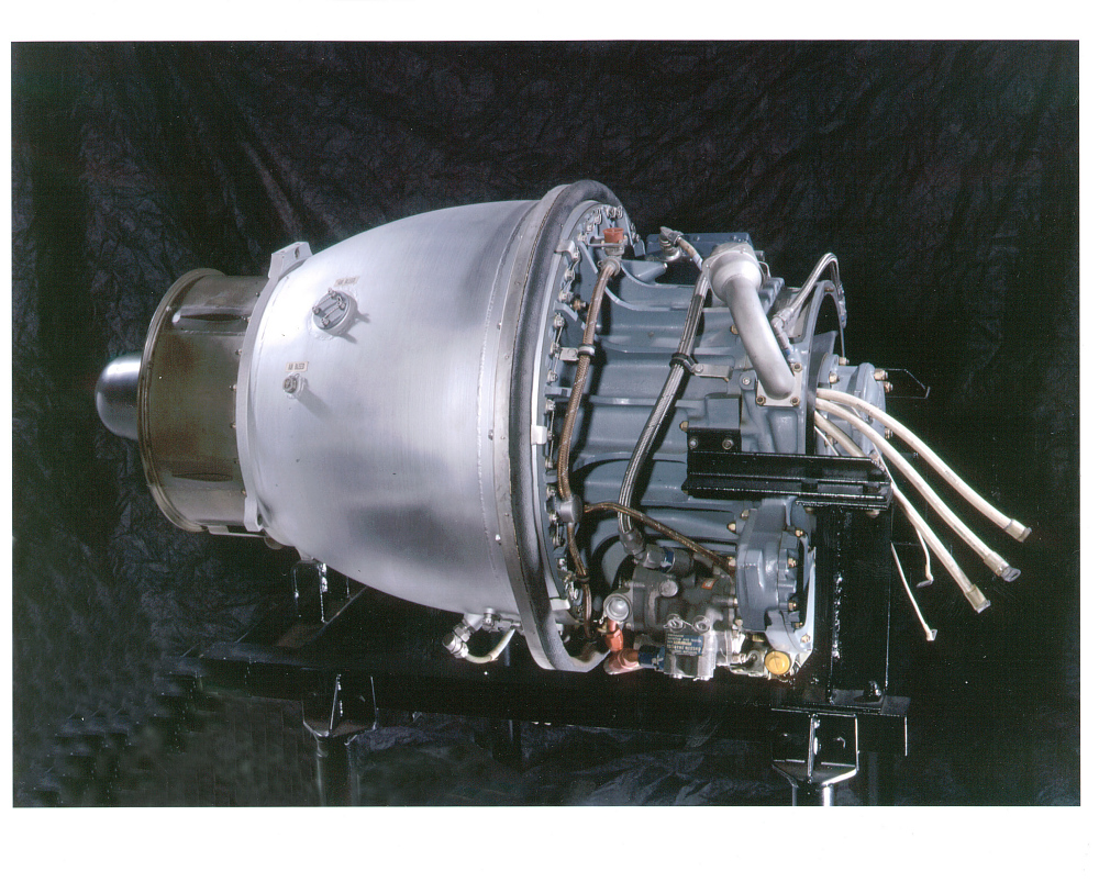 Continental J69-T-25A Turbojet Engine