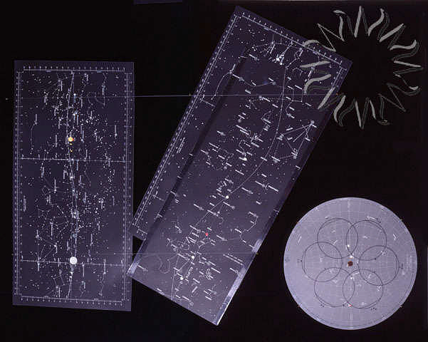 Star Chart, Training, Apollo 11,Star Chart, Training, Apollo 11