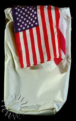 Flag, United States of America, Apollo 11,Flag, United States of America, Apollo 11