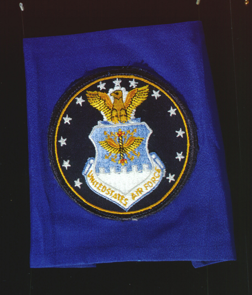 Flag, United States Air Force, Apollo 11,Flag, United States Air Force, Apollo 11