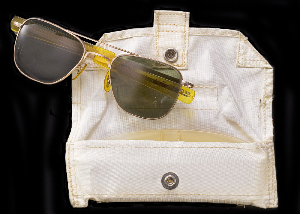 Case, Sunglasses, Collins, Apollo 11