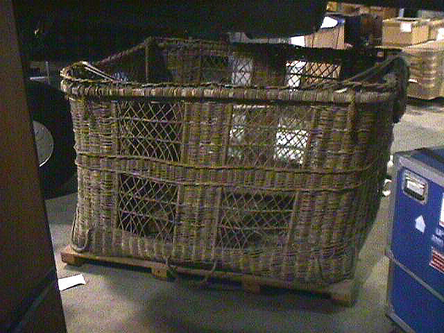 Basket, Balloon, USMC, World War I,Basket, Balloon, USMC, World War I