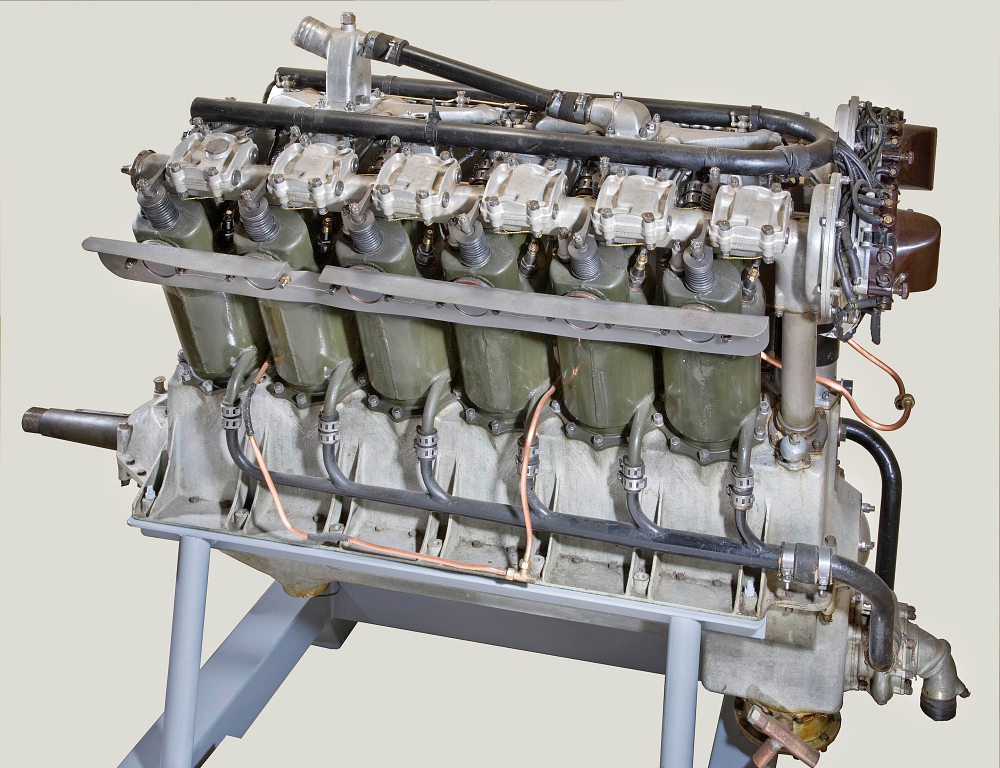 Liberty 12 Model A (Lincoln) V-12 Engine