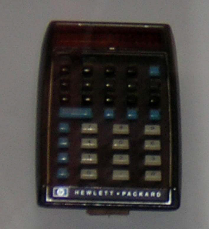 Calculator, Pocket, Electronic, HP-35
