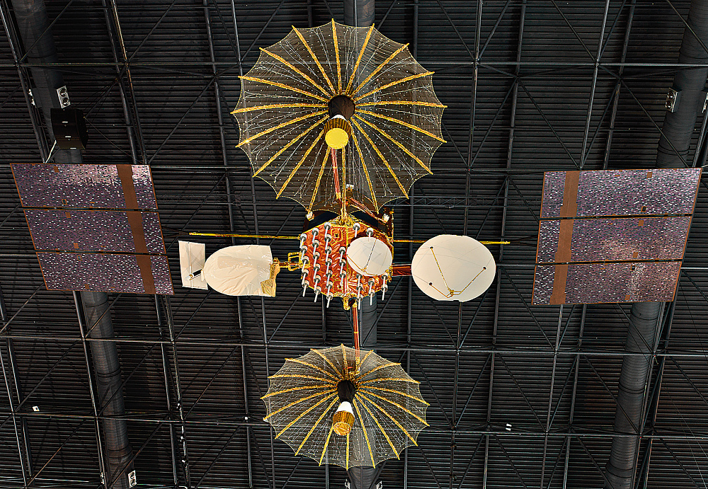 Model, Communications Satellite, Tracking and Data Relay Satellite (TDRS)