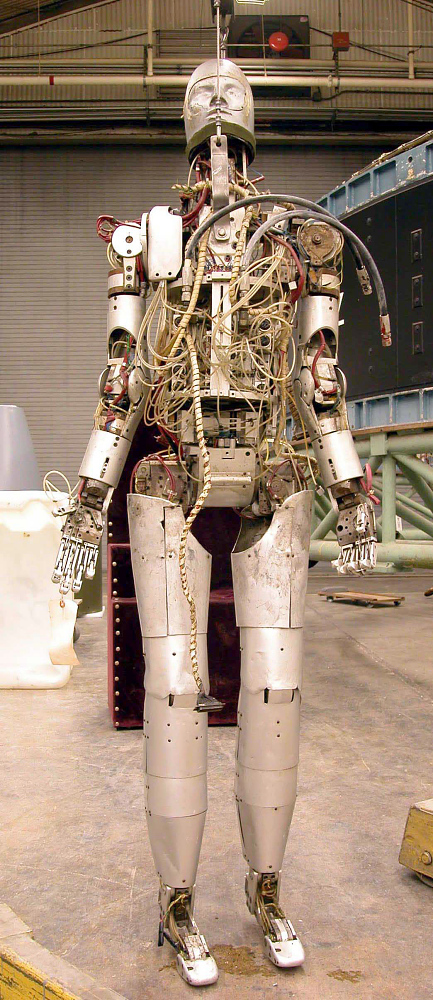 Android, Space Suit, Testing