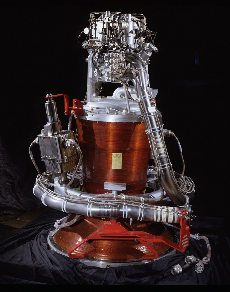 Rocket Engine, Liquid, Chamber, Apollo Service Module Propulsion System (SPS)