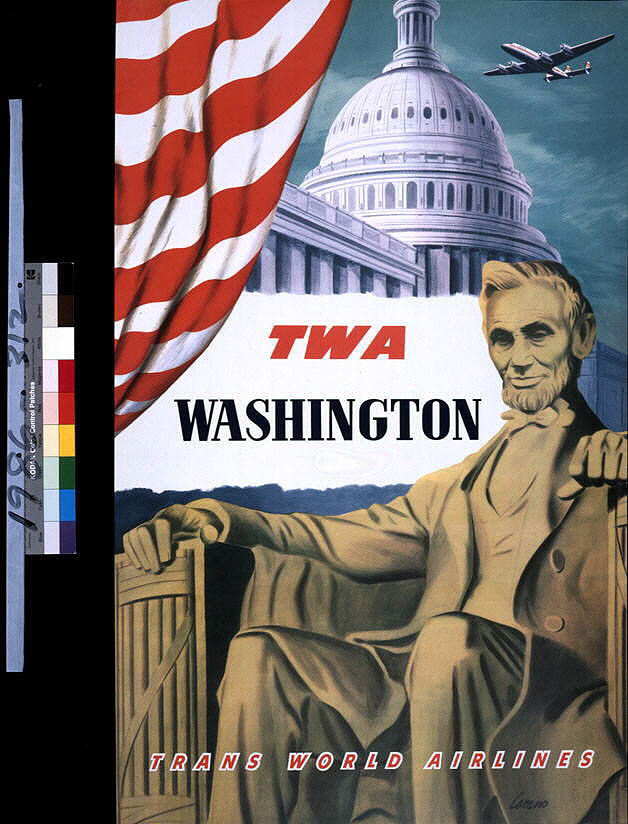 TWA Trans World Airlines Washington