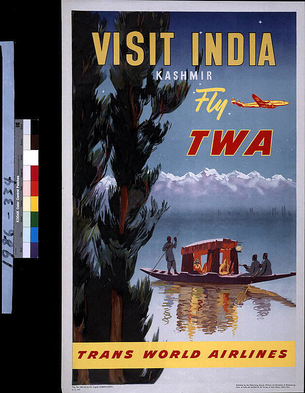 Visit India Kashmir Fly TWA
