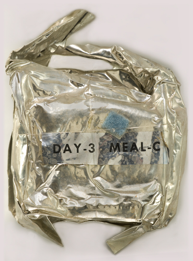 Space Food, Meal Package, Day 3, Meal C, Apollo 11 (Blue)