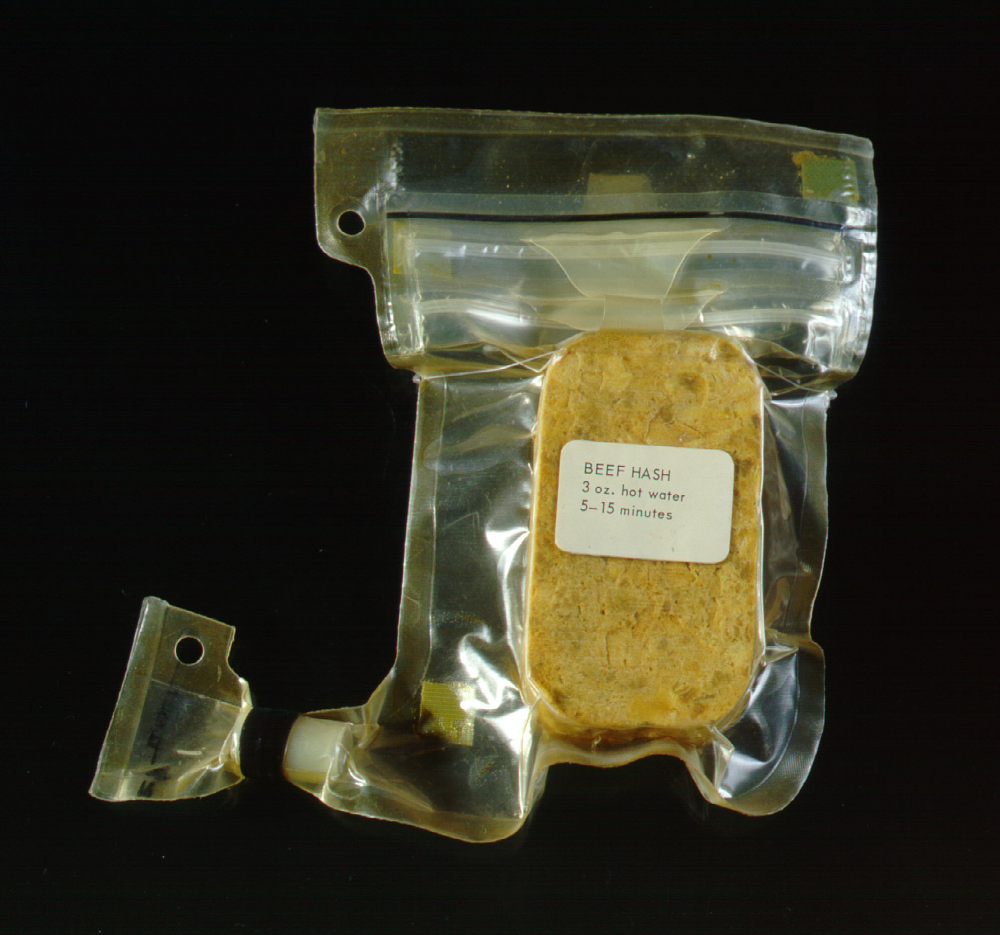 Space Food, Beef Hash, Apollo 11 (Blue)