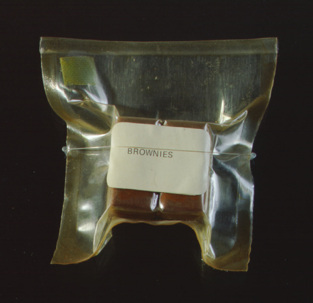 Space Food, Brownies, Apollo 11 (Blue)