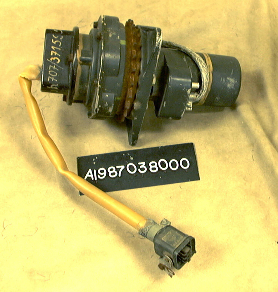 Missile, Surface-to-Surface, V-2, Air Vane, Actuator