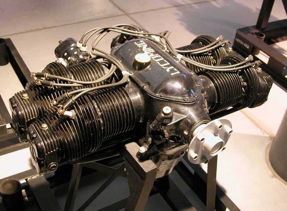 Lycoming O-145-B2 Horizontally-opposed Engine